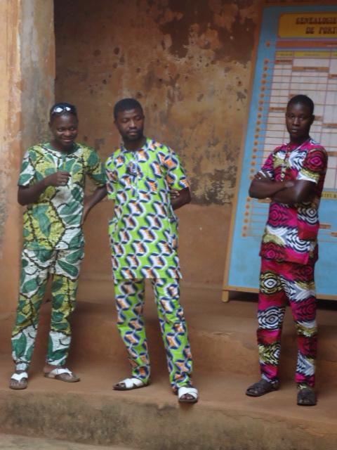 African Print Fabric Overlandrover Westafrica Net